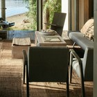 Остекленная почти со всех сторон гостиная с видом на озеро. (1950-70е,середина 20-го века,медисенчери,медисенчери модерн,модерн,средневекоый модерн,модернизм,mcm,архитектура,дизайн,экстерьер,интерьер,дизайн интерьера,мебель,гостиная,дизайн гостиной,интерьер гостиной,мебель для гостиной,фото гостиной,идеи гостиной)