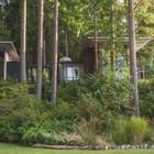 Прекрасный модернистский дом у озера Джима Олсона.