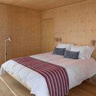 Одна из спален плавучего дома. Количество спален зависит от выбранной модели.