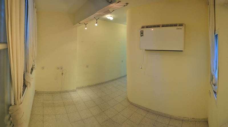 Гостиная до реконструкции