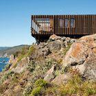 Дом расположен на скале на высоте 70 метров над уровнем моря.