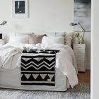 Кто-то предпочитает высокую кровать, а кто-то совсем низкую.