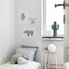 Дизайн детской комнаты для сторонников минимализма.