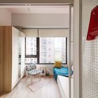 Просторная и светлая спальня - один из бонусов новой планировки. (квартиры,апартаменты,интерьер,дизайн интерьера,мебель,современный,спальня,дизайн спальни,интерьер спальни,фото спальни,мебель для спальни,кровать)
