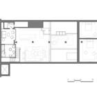 План второго уровня квартиры.