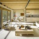 Для дополнительной защиты от солнца на окнах предусмотрены рулонные шторы из соломки. (архитектура,дизайн,экстерьер,интерьер,дизайн интерьера,мебель,минимализм,современный,гостиная,дизайн гостиной,интерьер гостиной,мебель для гостиной,фото гостиной,идеи гостиной,спальня,дизайн спальни,интерьер спальни,фото спальни,мебель для спальни,кровать,кухня,дизайн кухни,интерьер кухни,кухонная мебель,мебель для кухни,фото кухни)