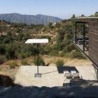Ниже дома расположена дополнительная терраса, возможно позже там появится бассейн.