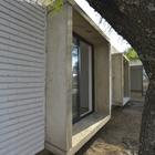 Простое и крайне эффективное решение для защиты от солнца. (фасад,архитектура,дизайн,интерьер,экстерьер,1950-70е,современный)