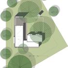 Схема расположения дома на участке