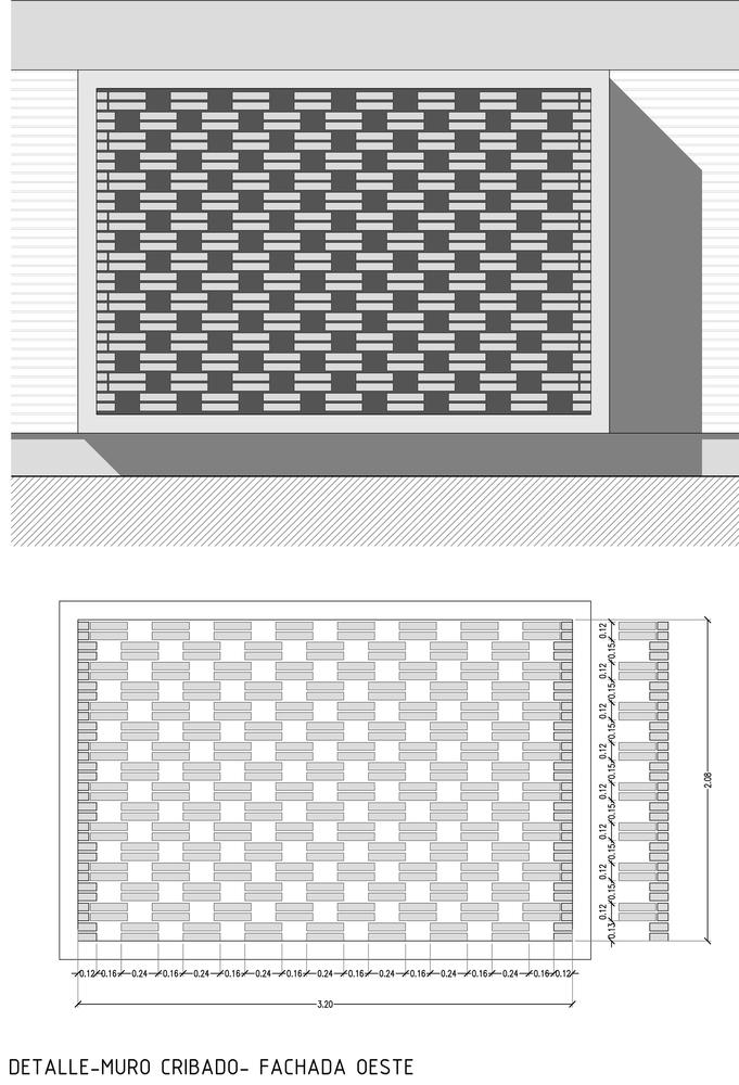 Схема решадчатой кладки