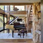 Гламурный элемент интерьера - рояль...