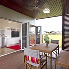 Терраса (на открытом воздухе,патио,современный,маленький дом,архитектура,дизайн,интерьер,экстерьер)