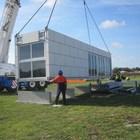 Инсталяция модульного дома на участке