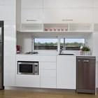 Кухня (кухня,минимализм,современный,мебель,маленький дом)