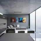 Жилая комната (гостиная,дизайн гостиной,интерьер гостиной,мебель для гостиной,столовая,дизайн столовой,интерьер столовой,мебель для столовой,минимализм,интерьер,дизайн интерьера,мебель)