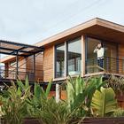 Террасы призваны расширить жилое пространство дома, сделать его визуально больше.