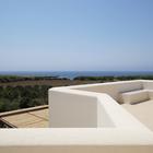 Терраса на крыше с видом на море. (на открытом воздухе,патио,балкон,терраса,средиземноморский,архитектура,дизайн,интерьер,экстерьер)