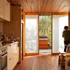(столовая,гостинная,кухня,на открытом воздухе,патио,терраса,минимализм,пляжный,современный,маленький дом,архитектура,дизайн,интерьер,экстерьер)