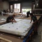 Сборка панелей дома заводским способом