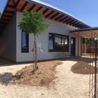 Готовый дом на участке (фасад,современный,архитектура,дизайн,интерьер,экстерьер,маленький дом,энергосбережение,экология,теплоизоляция,утепление)
