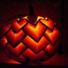 Тыква - ананас. (сделай сам,самоделки,хэллоуин,тыква,фонарь Джек,Джек-фонарь, фонарь Джека,фонарь из тыквы,резьба из тыквы)