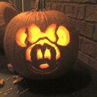 Тыква - диснеевская мышка. (сделай сам,самоделки,хэллоуин,тыква,фонарь Джек,Джек-фонарь, фонарь Джека,фонарь из тыквы,резьба из тыквы)