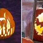 В тыквах водятся не только приведения, но и коты. (сделай сам,самоделки,хэллоуин,тыква,фонарь Джек,Джек-фонарь, фонарь Джека,фонарь из тыквы,резьба из тыквы)