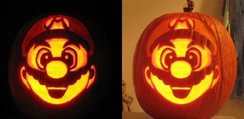 Тыква - Супер Марио.